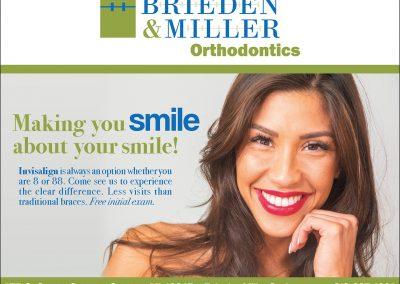 Brieden Miller Orthodontics Advertisement
