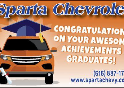 Sparta Chevrolet Advertisement